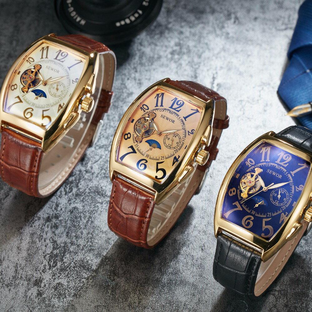 腕時計, メンズ腕時計  SEWOR Tourbillonish watches watch