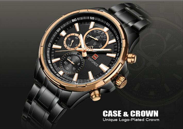 腕時計, メンズ腕時計 Naviforce TB-81191802 Quartz watches