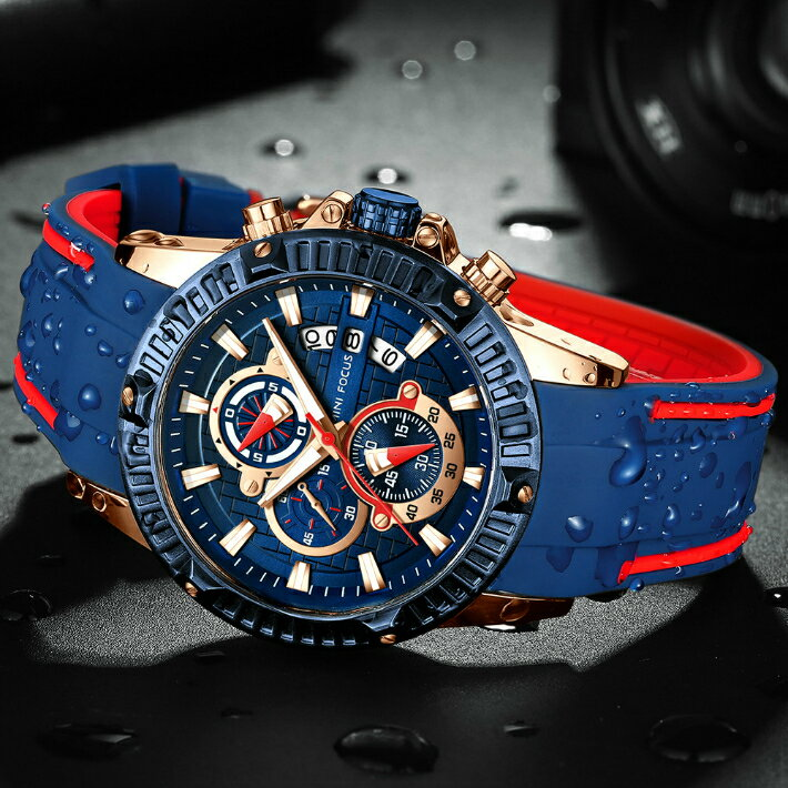 腕時計, メンズ腕時計 MINI FOCUS TB-9103-9108 Quartz watches