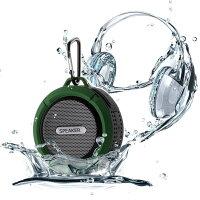 最新Bluetooth無線防水高音質5Wスピーカースマホi-PhoneAndroidi-Padタブレットアウトドアハンドフリー通話マイクロSDカード