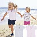【メール便可】 JoJo Maman Bebe ◆ ピーターパンTシャツ ピンク フラワー お花柄 ジョジョママンベベ Peter Pan Baby T-Shirt ◆ 女の子 シャツ 半袖 かわいい おしゃれ Tシャツ ティーシャツ 海外 ブランド イギリス お花 1歳 2歳
