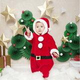 【クリスマスコスチューム】マシュマロサンタBabyサンタクロース男の子女の子カバーオール赤ちゃんBabyかわいいかっこいいおしゃれパーティー仮装コスプレクリスマス