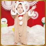 【クリスマスコスチューム】マシュマロトナカイBabyトナカイ男の子女の子カバーオール赤ちゃんBabyかわいいかっこいいおしゃれパーティー仮装コスプレクリスマス