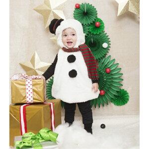 マシュマロ スノーマン 着ぐるみ ◆ Baby ゆきだるま 雪だるま ハロウィン 男の子 女の子 クリスマス 簡単 着るだけ 子供服 衣装 パジャマ 1歳 2歳 パーティ 冬 防寒 カバーオール 赤ちゃん かわいい かっこいい おしゃれ パーティー 仮装 ロンパース お遊戯会 コス
