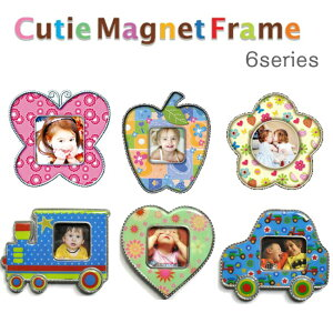 パパジーノ キューティーマグネットフレーム フレーム プレゼント 赤ちゃん マグネット バースデー メモリアルフォトフレーム メモリアル プチギフト
