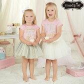 【メール便可】MudPieバースディTシャツ誕生日お祝い赤ちゃんベビー女の子BIRTHDAY1歳2歳3歳4歳5歳★マッドパイ