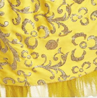 【レビューを書いて宅急便無料】白雪姫(スノーホワイト)カチューシャ付き/ディズニー(Disney)/ロング/コスチューム/ワンピース/仮装☆コスプレ/キッズ子供3-4T、4-6T/ディズニープリンセス/ドレス