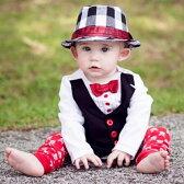 【レビューでメール便無料】RuggedButtsホワイト蝶ネクタイタキシード長袖ロンパースボディスーツ★結婚式誕生日お宮参りおめかしフォーマルベビーキッズ子供赤ちゃん(WhiteTuxedoLSBodysuit)ラゲッドバッツ男の子
