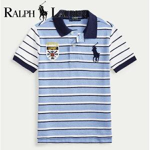 RALPH LAUREN ポロ ラルフローレン ポロシャツ ビッグポニー,キッズ,コットン メッシュ,半袖ポロシャツ,男の子,3才-7才,正規品