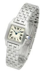 カルティエ(CARTIER) サントスドゥモワゼル W25064Z5 レディースサイズ[新品][時計][腕時計][代引手数料込][送料無料]
