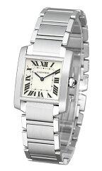 カルティエ(CARTIER) タンクフランセーズ MM WSTA0005 ボーイズサイズ[新品][時計][腕時計][レディース][代引手数料込][送料無料]