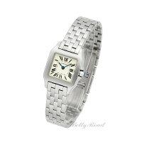 カルティエ(CARTIER)サントスドゥモワゼルW25064Z5レディースサイズ[新品][時計][腕時計][手数料込][送料無料]