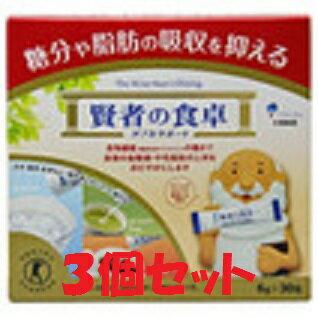 (3個セット)賢者の食卓 ダブルサポート 6g×30包×3個(大塚製薬 賢者の食卓 血糖値が気になる方へ 特定保健用食品(トクホ))