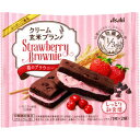 (6個セット)バランスアップ クリーム玄米ブラン 苺のブラウニー(1枚*2袋入)×6個