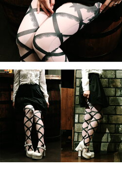 dressygirl【ドレッシィガール】Ladystights80denierCrossoverribon(レディースタイツ80デニールクロスオーバーリボン)