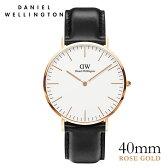 ダニエルウェリントン Daniel Wellington 40mm シェフィールド ローズ メンズ 腕時計 ★ポイント10倍
