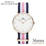 DanielWellington【ダニエルウェリントン】サウサンプトン/ローズ36mm腕時計ClassicSouthampton