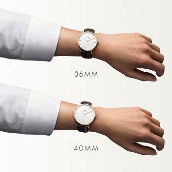 DanielWellington【ダニエルウェリントン】ヨーク/ローズ36mm腕時計ClassicYork