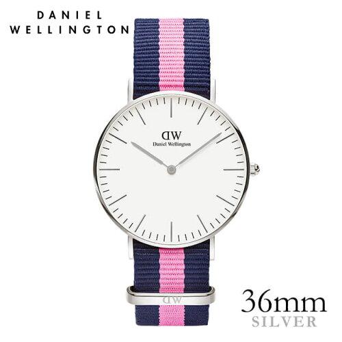 ダニエルウェリントン Daniel Wellington 36mm ウィンチェスター シルバー メンズ レディース 腕時...