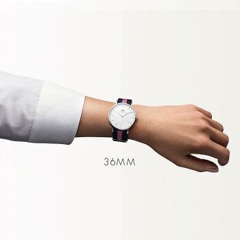 DanielWellington【ダニエルウェリントン】ウィンチェスター/シルバー36mm腕時計ClassicWinchester