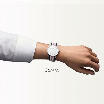 DanielWellington【ダニエルウェリントン】サウサンプトン/シルバー36mm腕時計ClassicSouthampton