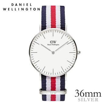 DanielWellington【ダニエルウェリントン】カンタベリー/シルバー36mm腕時計ClassicCanterbury