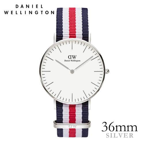 ダニエルウェリントン 36mm Daniel Wellington カンタベリー シルバー メンズ レディース 腕時計 ...