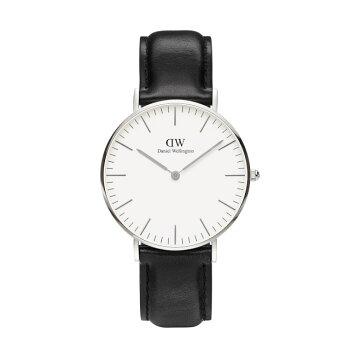 DanielWellington【ダニエルウェリントン】シェフィールド/シルバー36mm腕時計ClassicSheffield