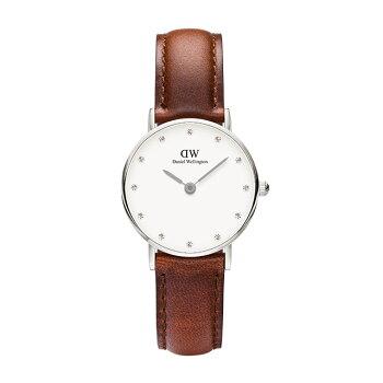 DanielWellington【ダニエルウェリントン】セイント・モーズ/シルバー26mmクラッシー腕時計ClassicStMawes