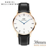 [ポイント5倍]ダニエルウェリントン【Daniel Wellington】ダッパー シェフィールド/ローズ 38mm 腕時計 Dapper Sheffield