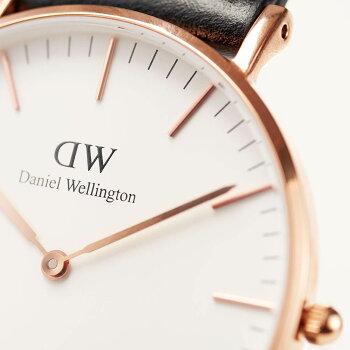 DanielWellington【ダニエルウェリントン】セイント・モーズ/ローズ36mm腕時計ClassicStMawes