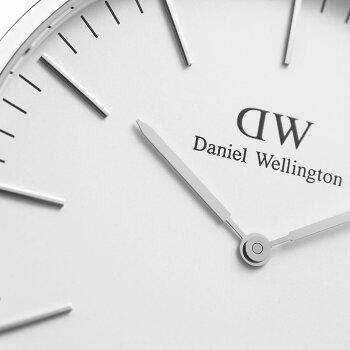 DanielWellington【ダニエルウェリントン】シェフィールド/シルバー40mm腕時計ClassicSheffield