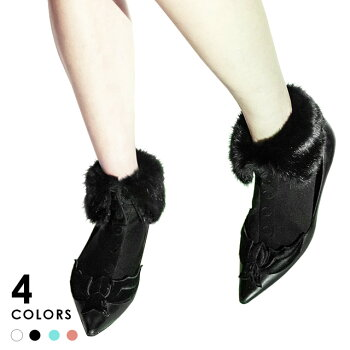 ERIMAKISOX【エリマキソックス】Furcollarファー衿ソックス全4色