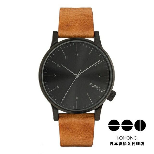 腕時計, 男女兼用腕時計 KOMONO WINSTON REGAL - COGNAC