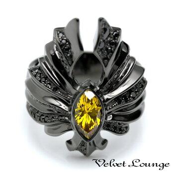 VelvetLounge【ヴェルヴェットラウンジ】イーグルフローリング/ブラック/イエロー【受注オーダー制キャンセル】
