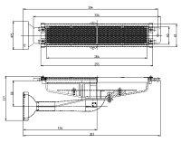 リンナイ荒磯用(RGA)ガス赤外線バーナーユニットR-420-7