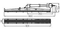 リンナイガス赤外線バーナーユニット(シュバンク)【R-1207C2】