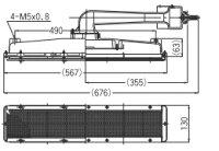 リンナイガス赤外線バーナーユニット(シュバンク)【R-1603S2】