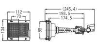 リンナイガス赤外線バーナーユニット(シュバンク)【R-206S(A)】