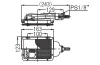 リンナイガス赤外線バーナーユニット(シュバンク)【R-402S2(A)】