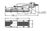 リンナイガス赤外線バーナーユニット(シュバンク)【R-412S2(A)】