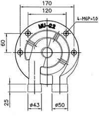 業務用(工業用)リングバーナー(直径195mm)【U-22】