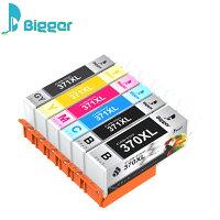 CANON(キャノン)371XL370XL大容量【BCI-370XLPGBK】+【BCI-371XLBK/C/M/Y/GY】6色マルチパックICチップ残量表示検知機能付きBIGGER製互換インクカートリッジBCI371XL+370XL/6MP