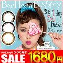 【±0.00〜-5.00】 カラコン ビーハートビーメアリー 1箱30...
