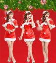 【あす楽】サンタ コスプレ パニーガール ネコミミ  衣装 クリスマス サンタコス サンタクロース コスチューム セクシー パーティ サンタコスプレ サンタ コス 大きいサイズ X'mas バニーサンタ パーティー イベント レディースサンタクロース 変装 仮装 2