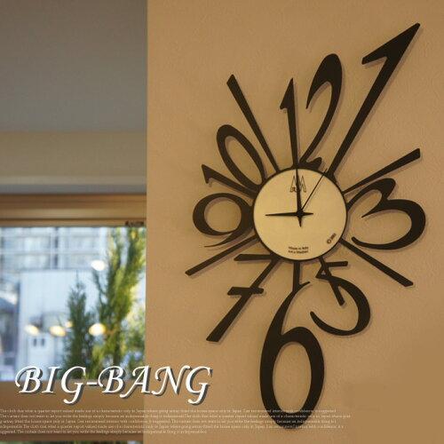 シャープな存在感あり!ホームアクセサリーとしてハイセンスなイタリア製デザイナーズ壁掛け時計!...