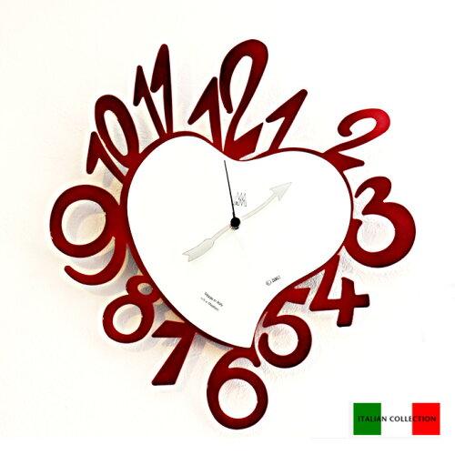 ドキドキワクワクの可愛いフォルム♪イタリア製デザイナーズ壁掛け時計! アルティ・エ・メスティ...