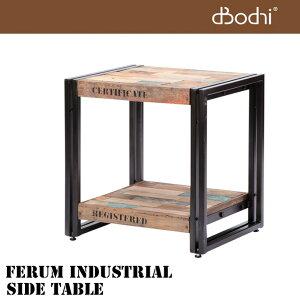 商品到着後レビューを書いて3%OFF!FERUM INDUSTRIAL SIDE TABLE(フェルム インダストリアル...