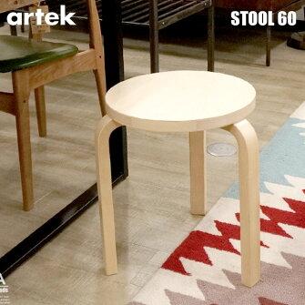 Stool60(スツール60)Artek(アルテック)AlvarAalto(アルヴァ・アアルト)スタッキングチェア・スツール全17色送料無料