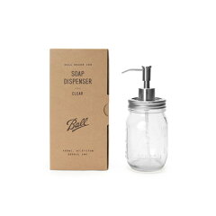 Ball mason Jar Soap Dispenser (ボール メイソン ジャー ソープ ディスペンサー)2852CL・285...